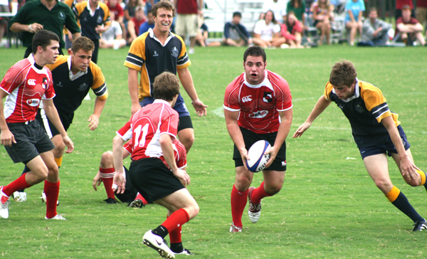 USA College 7s: Arkansas shows 'Heart' in their conference championship