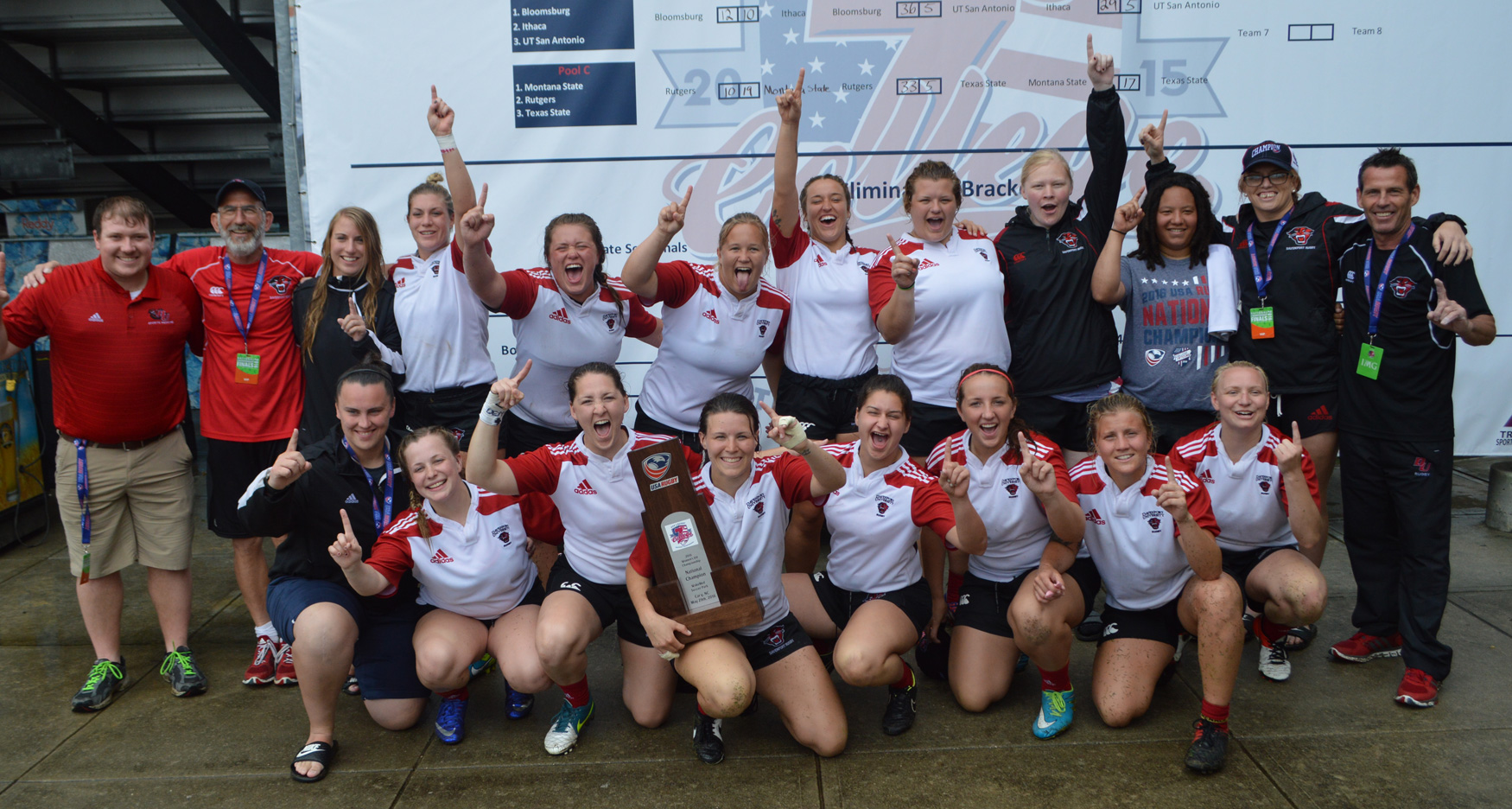 USA College 7s: College 7s 2016: Davenport, Duluth sweep Division II titles